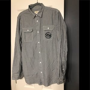 Diesel Shirts - Diesel designer Long sleeve button down XL